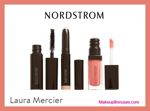 Receive a free 3-pc gift with $75 Laura Mercier purchase