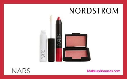 Receive a free 3-pc gift with $125 NARS purchase