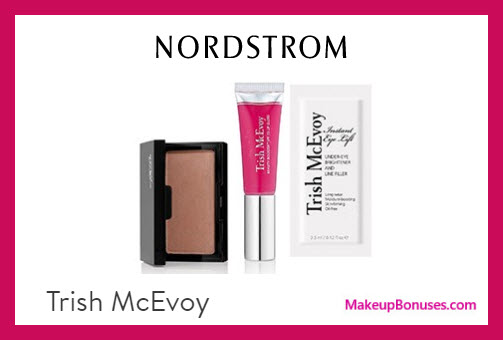 Receive a free 3-pc gift with $75 Trish McEvoy purchase