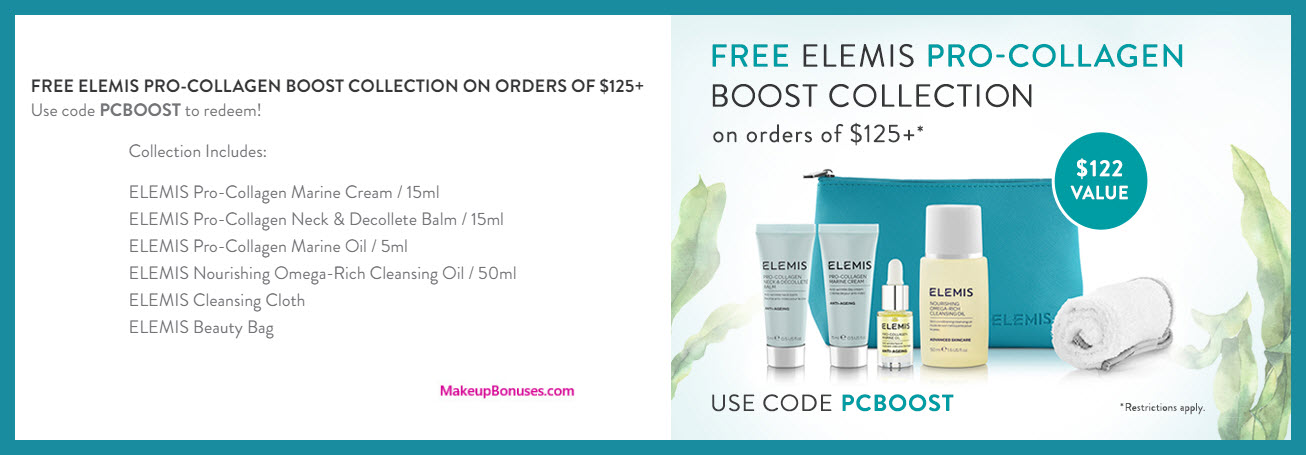 Receive a free 6-pc gift with $125 Multi-Brand purchase