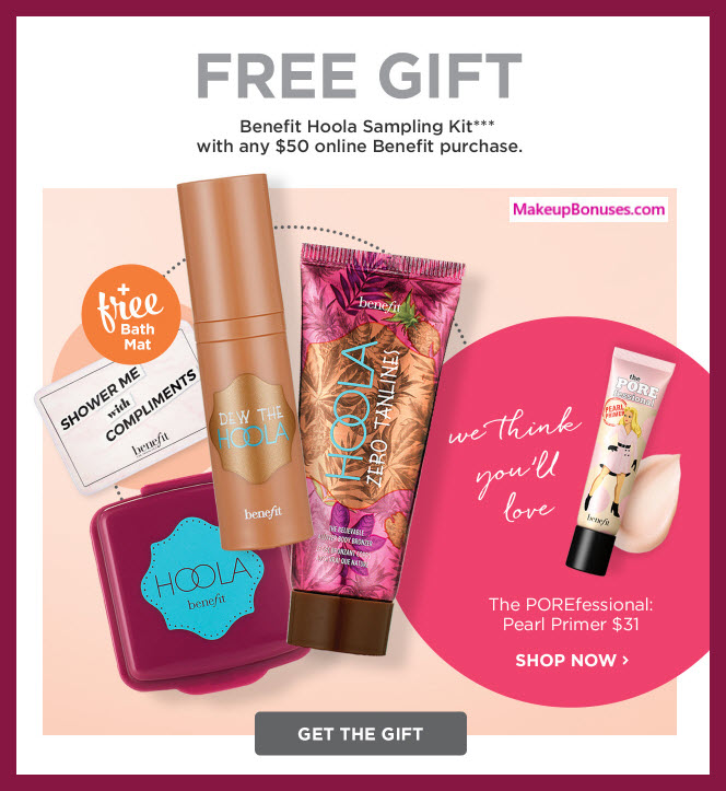 Ulta benefit gift with purchase gift ftempo for Gift with purchase ideas