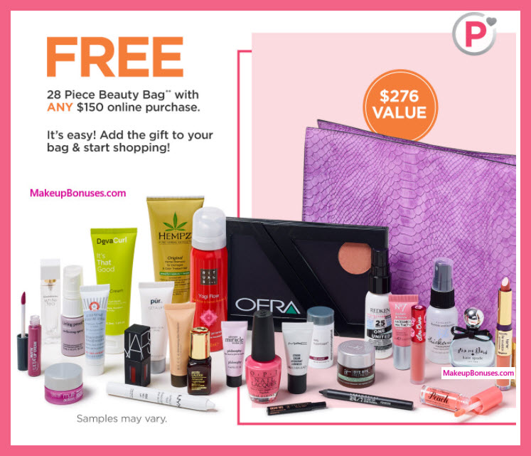 Receive a free 28-pc gift with Platinum or Diamond Member $150+ purchase