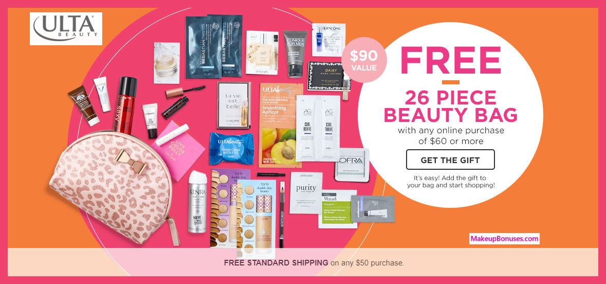Receive a free 26-pc gift with $60 Multi-Brand purchase