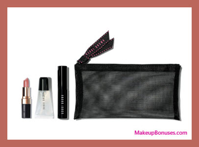 Receive a free 4-pc gift with $100 Bobbi Brown purchase