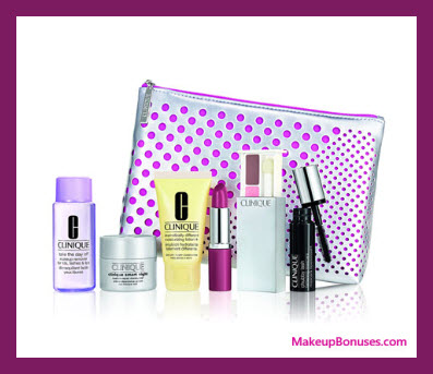 Receive a free 7-pc gift with $50 Clinique purchase