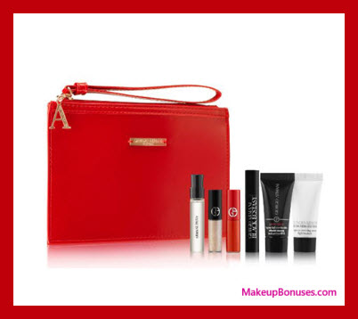 Receive a free 8-pc gift with $150 Giorgio Armani purchase