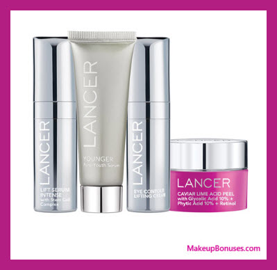 Receive a free 4-pc gift with $200 LANCER purchase