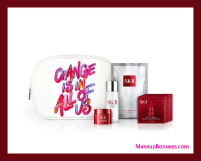 Receive a free 11-pc gift with $450 SK-II purchase