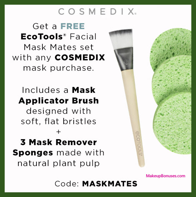 Receive a free 4-pc gift with mask purchase