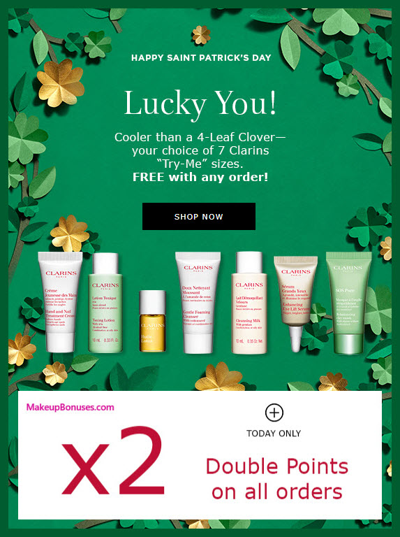 Receive a free 7-pc gift with any purchase