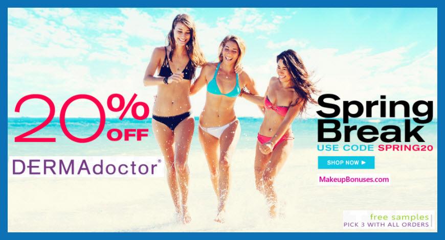 DERMAdoctor Discount - MakeupBonuses.com