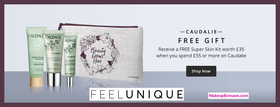 Receive a free 4-pc gift with ~$77 (55 GBP) purchase