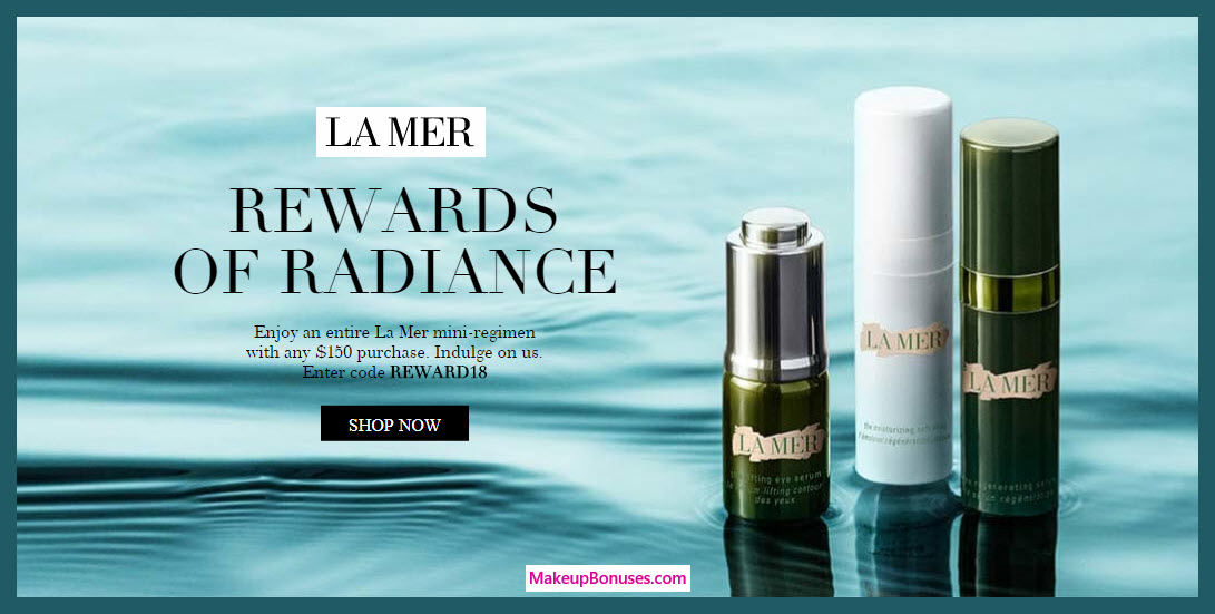 Receive a free 3-pc gift with $150 La Mer purchase