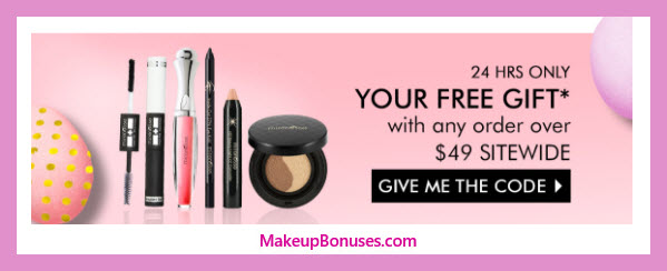 Receive a free 5-pc gift with $49 Mirenesse purchase