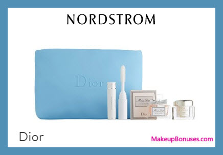 Receive a free 4-pc gift with $150 Dior Beauty purchase