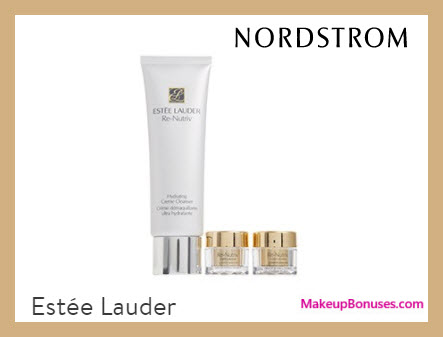Receive a free 3-pc gift with $125 Estée Lauder purchase