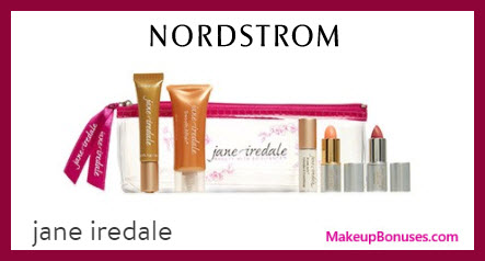 Receive a free 6-pc gift with $100 Jane Iredale purchase