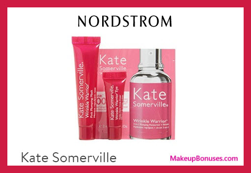 Receive a free 3-pc gift with $200 Kate Somerville purchase