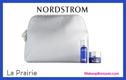 Receive a free 3-pc gift with $400 La Prairie purchase
