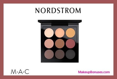 Receive a free 9-pc gift with $65 MAC Cosmetics purchase