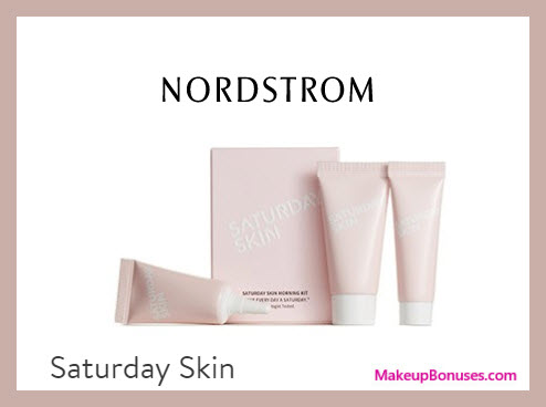 Receive a free 3-pc gift with $35 Saturday Skin purchase