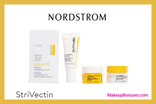 Receive a free 5-pc gift with $89 StriVectin purchase