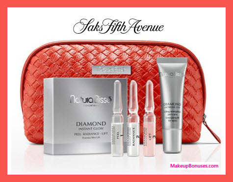 Receive a free 5-pc gift with $350 Natura Bissé purchase