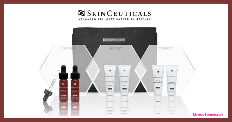 Receive your choice of 4-pc gift with $185 SkinCeuticals purchase