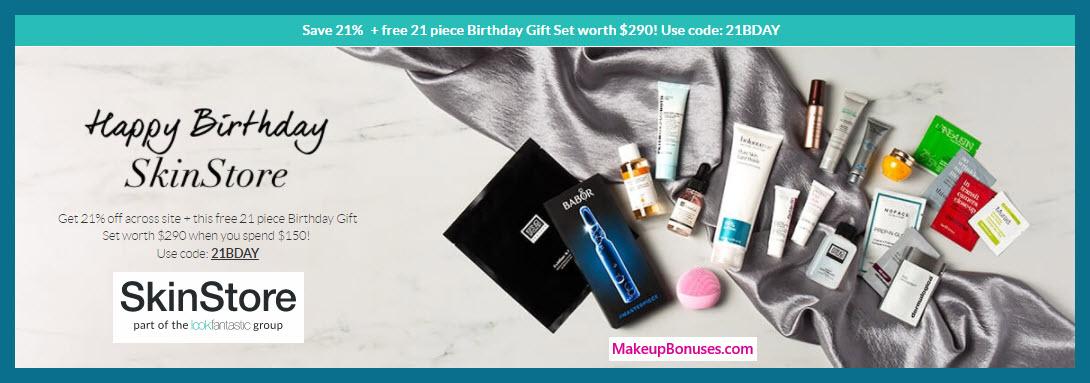 Receive a free 21-pc gift with $150 Multi- Brand purchase