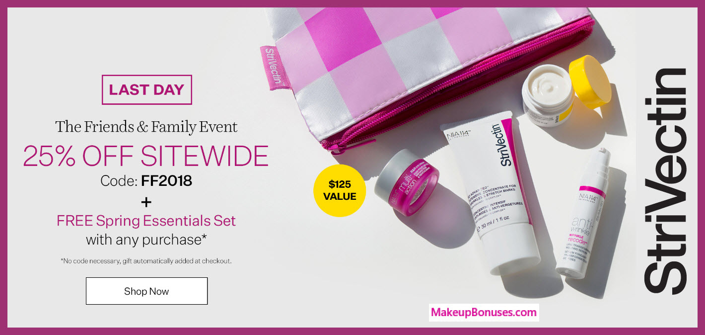 Receive a free 5-pc gift with any purchase