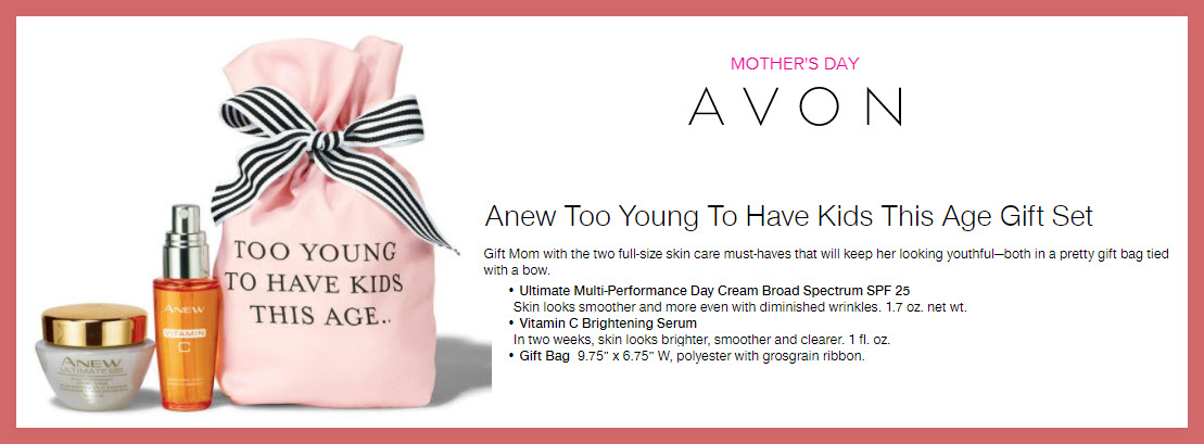 Anew Too Young To Have Kids This Age Gift Set - MakeupBonuses.com
