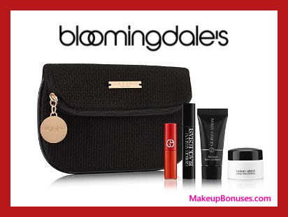 Receive a free 5-pc gift with $125 Giorgio Armani purchase