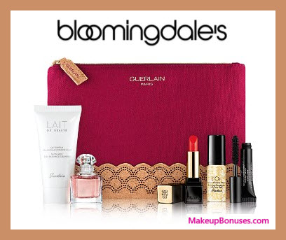 Receive a free 6-pc gift with $300 Guerlain purchase