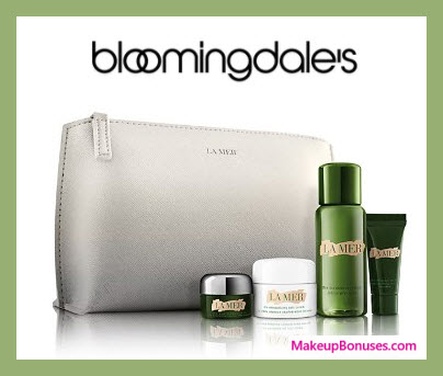 Receive a free 5-pc gift with $300 La Mer purchase