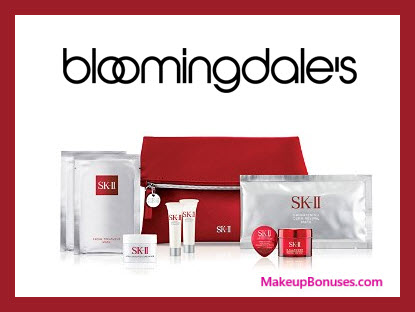 Receive a free 9-pc gift with $750 SK-II purchase