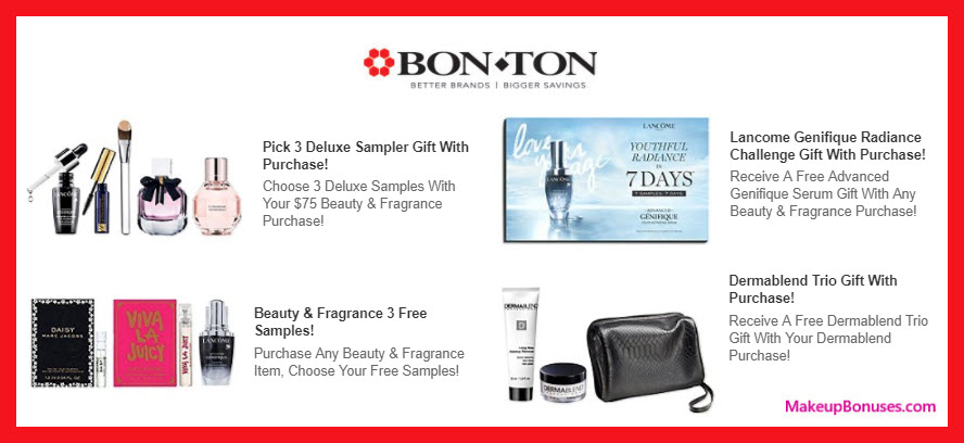 Receive a free 3-pc gift with any purchase - MakeupBonuses.com #Dermablend