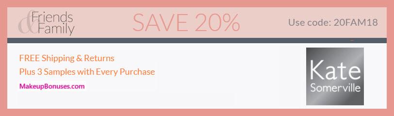 Friends & Family 2018 - Save 20% MakeupBonuses.com