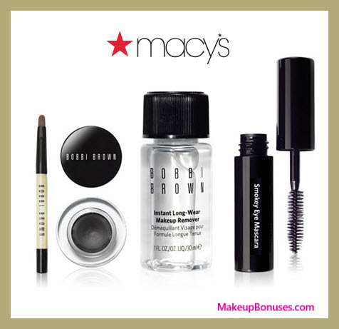 Receive a free 4-pc gift with $75 Bobbi Brown purchase