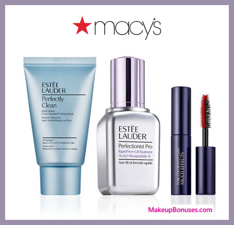 Receive a free 3-pc gift with $55 Estée Lauder purchase