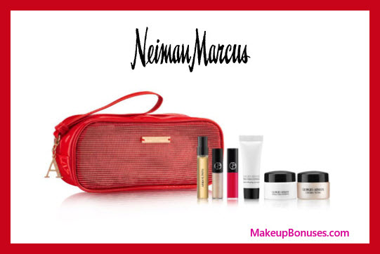 Receive a free 7-pc gift with $150 Giorgio Armani purchase
