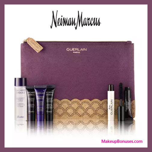 Receive a free 7-pc gift with $400 Guerlain purchase