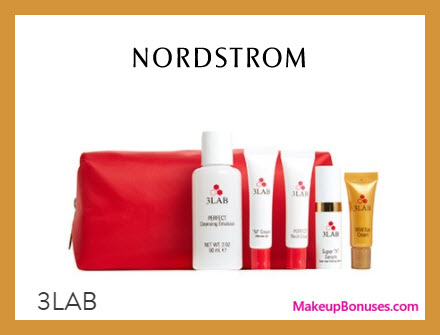 Receive a free 6-pc gift with $300 3LAB purchase