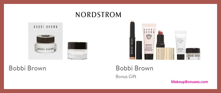 Receive a free 7-pc gift with $125 Bobbi Brown purchase