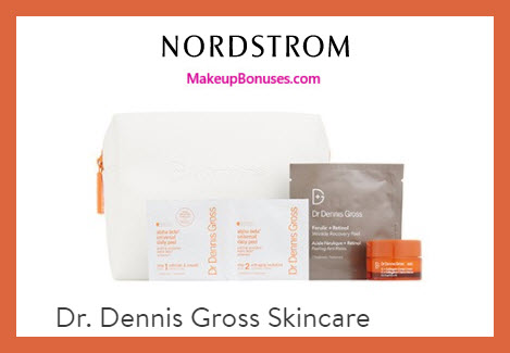 Receive a free 9-pc gift with $175 Dr Dennis Gross purchase