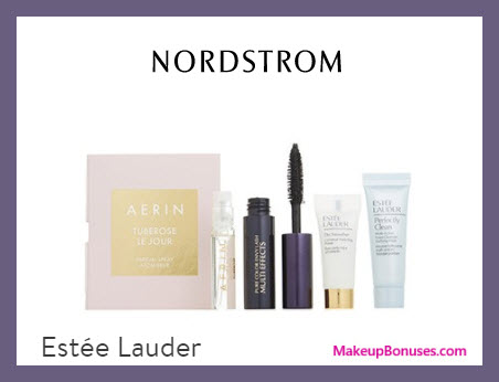 Receive a free 4-pc gift with $35 Estée Lauder purchase