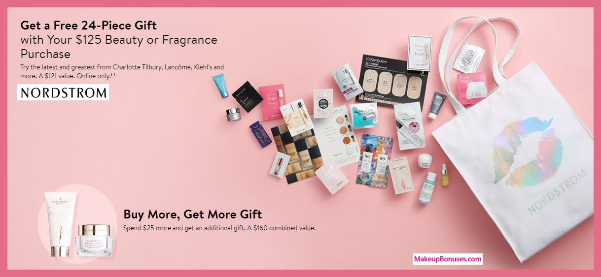 Receive a free 24-pc gift with $125 Multi-Brand purchase