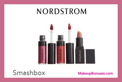 Receive a free 3-pc gift with $35 Smashbox purchase