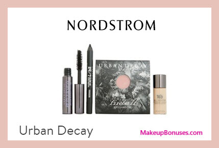 Receive a free 4-pc gift with $75 Urban Decay purchase