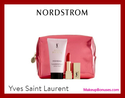 Receive a free 3-pc gift with $124 Yves Saint Laurent purchase