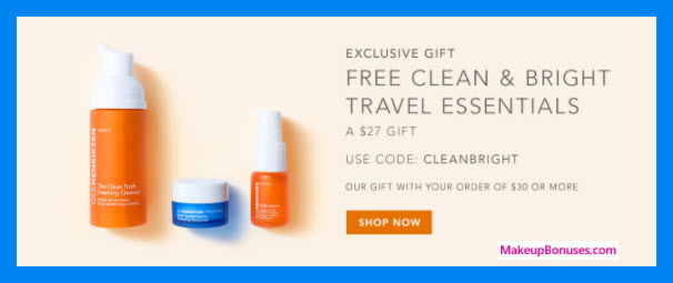 Receive a free 3-pc gift with $30 OLE HENRIKSEN purchase